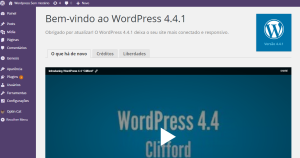 erro autalizar o wordpress 4.3 p 4.4_3
