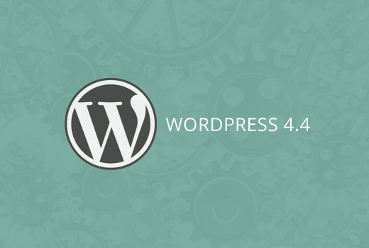 O que há de novo no WordPress 4.4