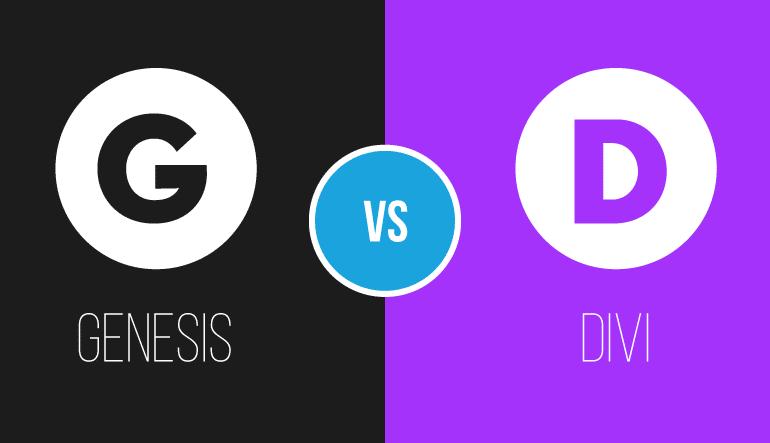 Divi Theme ou Genesis Framework  – Como escolher entre os dois temas mais populares do mercado de WordPress?