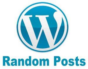 Exibir chamadas dos Posts Randomicamente através de um widget